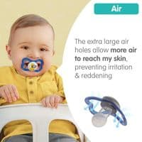 Mam Air Soother 6m + Pink